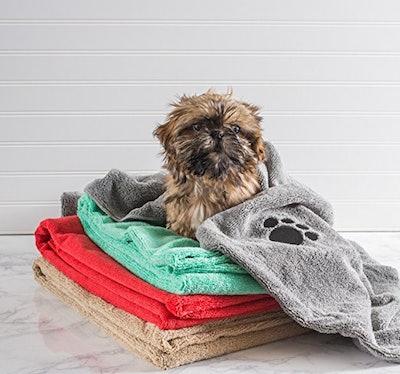 Bone Dry, Microfiber Pet Bath Towel