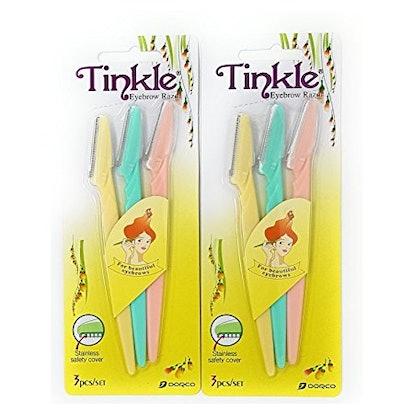 Tinkle Eyebrow Razors (6 Pack)