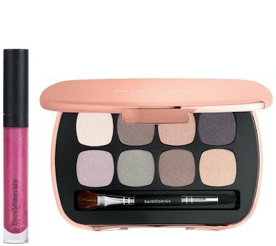 bareMinerals Eyeshadow Palette and Lip Gloss