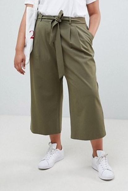 The Culotte With Tie Waist
