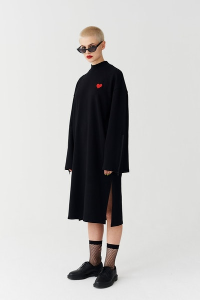 Cold Hearted Sweater Dress