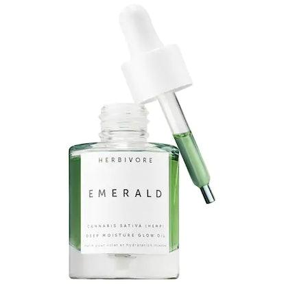 Herbivore Emerald Cannabis Sativa Hemp Seed Deep Moisture Glow Oil