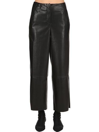 Faux Leather Pants