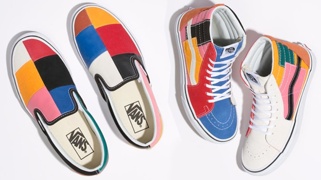 3aebb2566704ae The New Vans Patchwork Collection Will Make You Look Like The Fresh  Prince(ss) Of Bel-Air