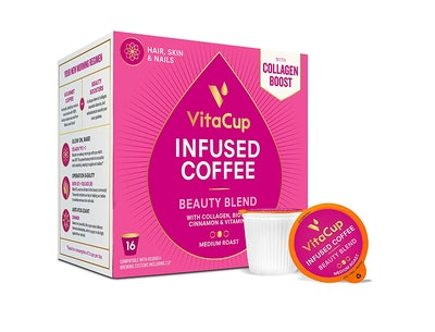 VitaCup Beauty Blend Infused Coffee (16 Count)