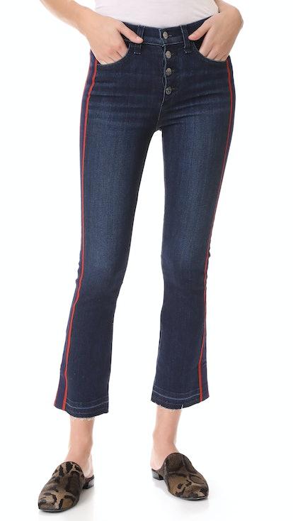 Jean Carolyn Jeans With Tux Stripe