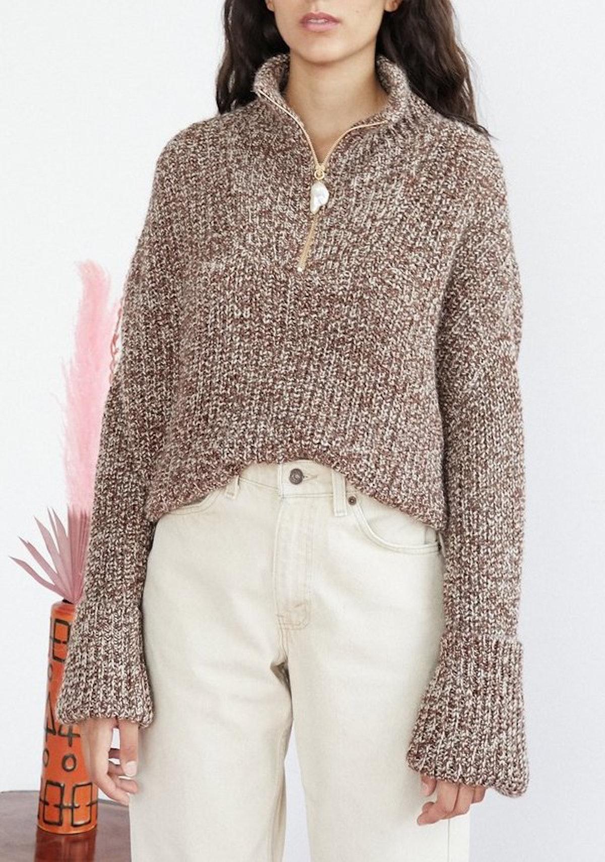 Thursday Zip Sweater
