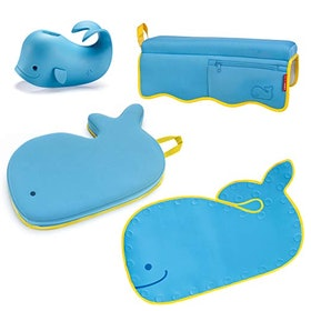 Moby Bath Set: Spout Cover, Kneeler, Rinser, Elbow Pad
