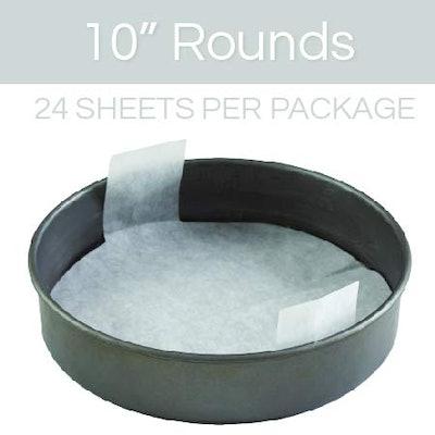 Smart Baker Pre-Cut Parchment Sheets (24 Pack)