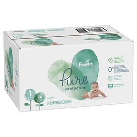 Pampers Pure Fragrance-Free Diapers (68 Count)