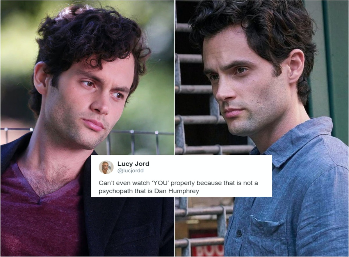 Twitter Is Convinced Dan Humphrey Grew Up & Became Joe Goldberg On 'You'