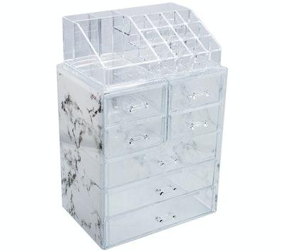 Sorbus Acrylic Makeup and Jewelry Storage Case