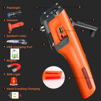 LUXON Emergency Flashlight Multi-Tool