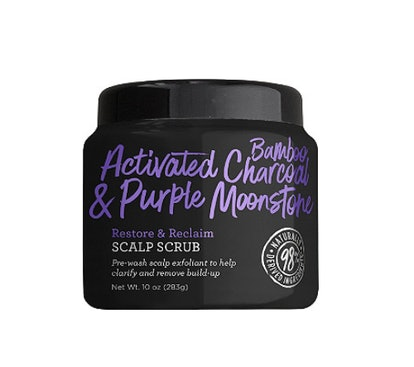 Not Your Mother's Activated Bamboo Charcoal & Purple Moonstone Restore & Reclaim Scalp Scrub