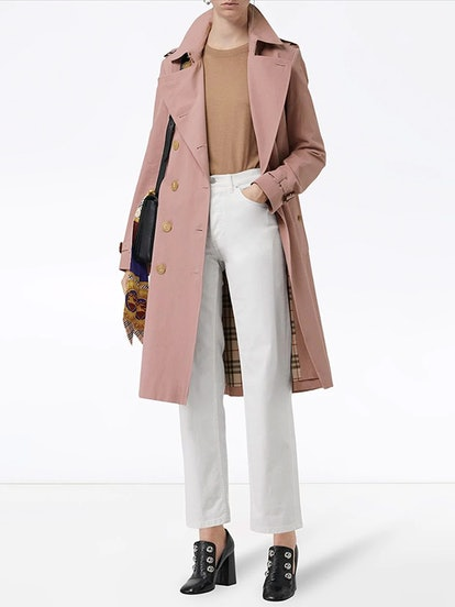 Tropical Gabardine Trench Coat