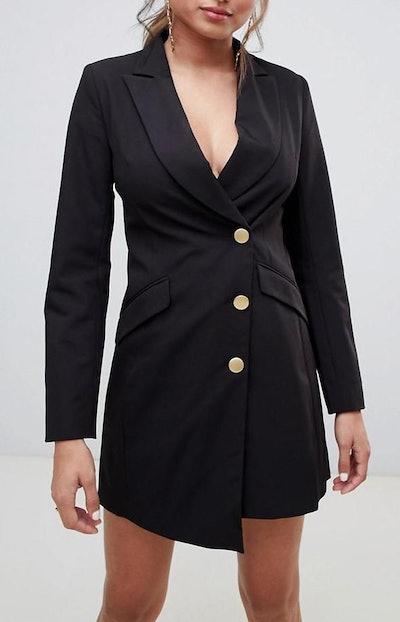 Millie Mackintosh Asymmetric Tux Dress