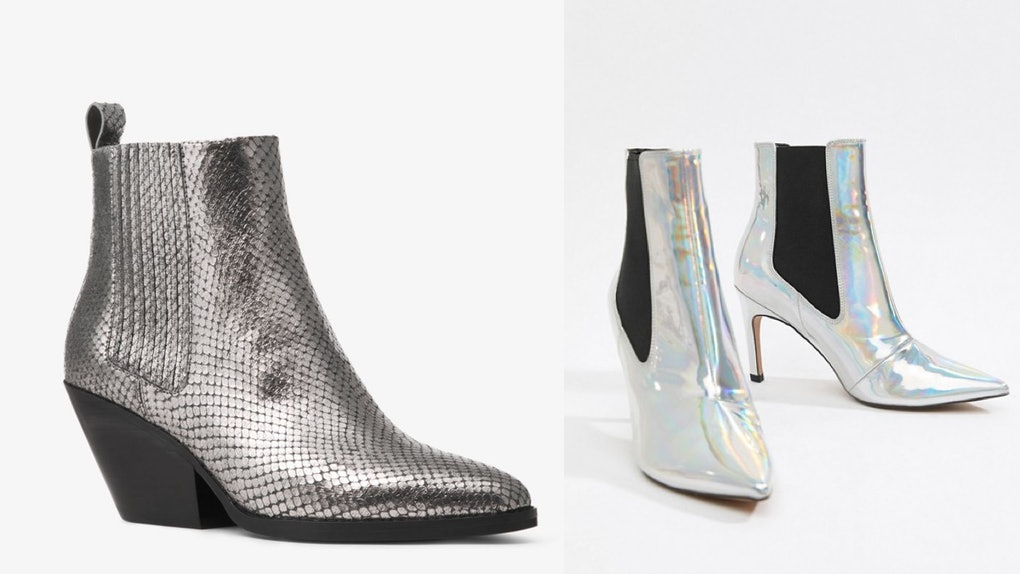 pretty nice 42d3b 6ec5e 10 Metallic Boots Under $100, Because Shiny Is Already ...