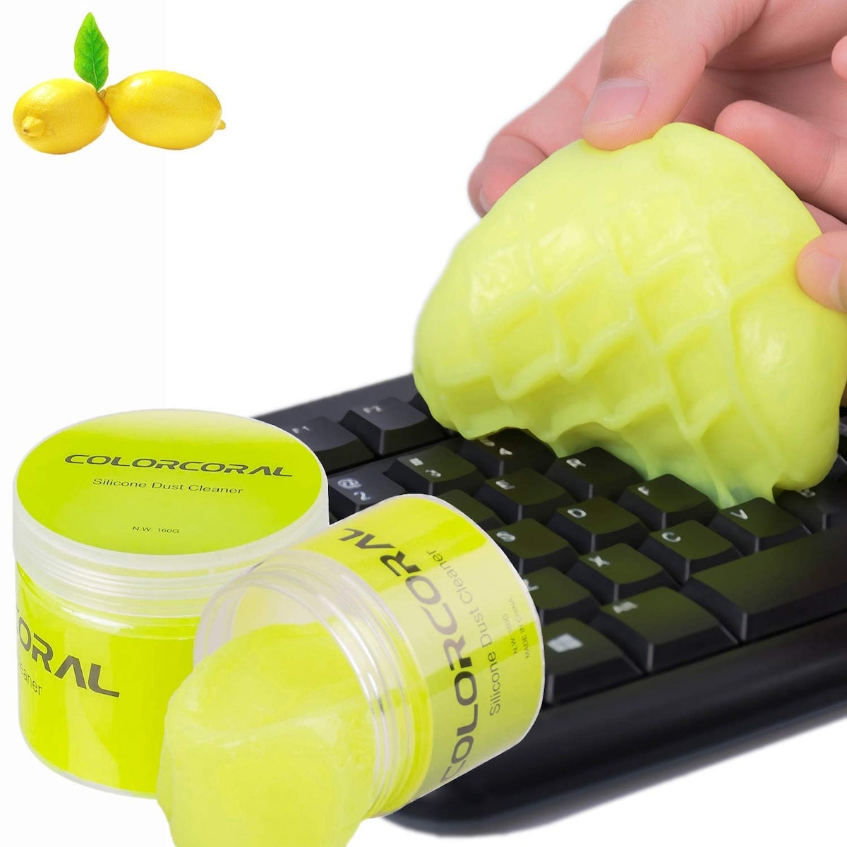 Color Coral Keyboard Cleaner