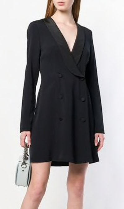 Double Breasted Blazer Style Dress