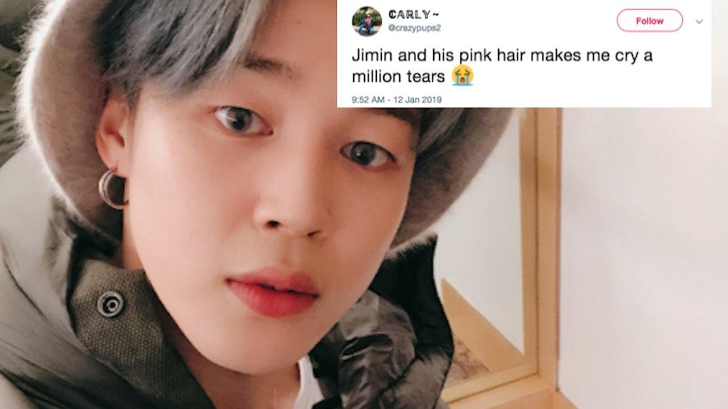 Jimin From Bts New Pink Hair In Nagoya Has Army Feeling So