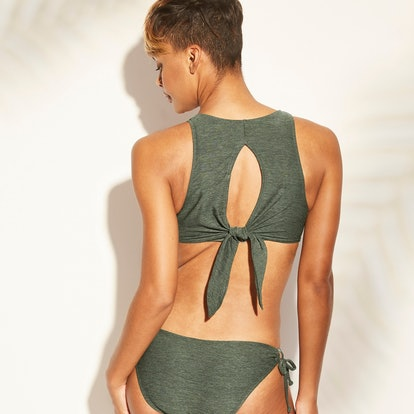 Women's Keyhole Tie Back Bikini Top - Kona Sol