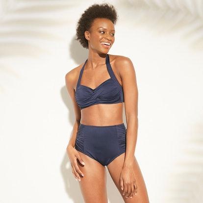 Women's Full Coverage High Waist Bikini Bottom - Kona Sol