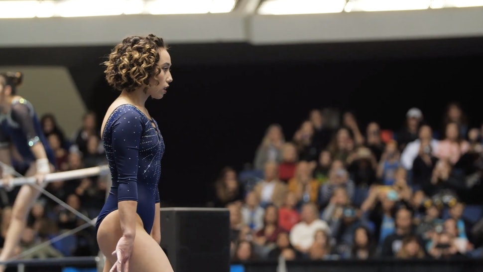 Gymnast Katelyn Ohashi's Recent Floor Routine Received A