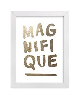 """Marabou Design Magnifique Foil, 5"""" x 7"""", Classic Frame"""