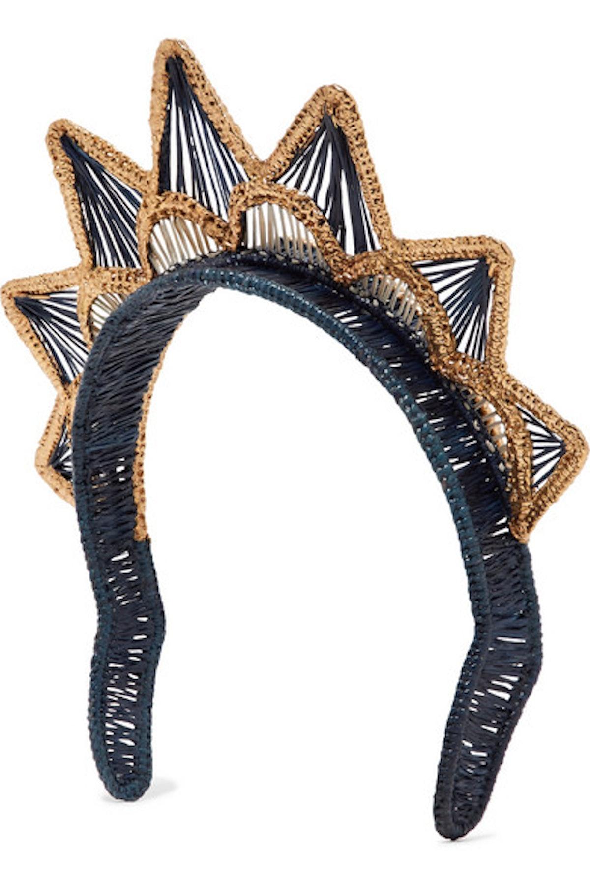 Gold-Dipped Headband
