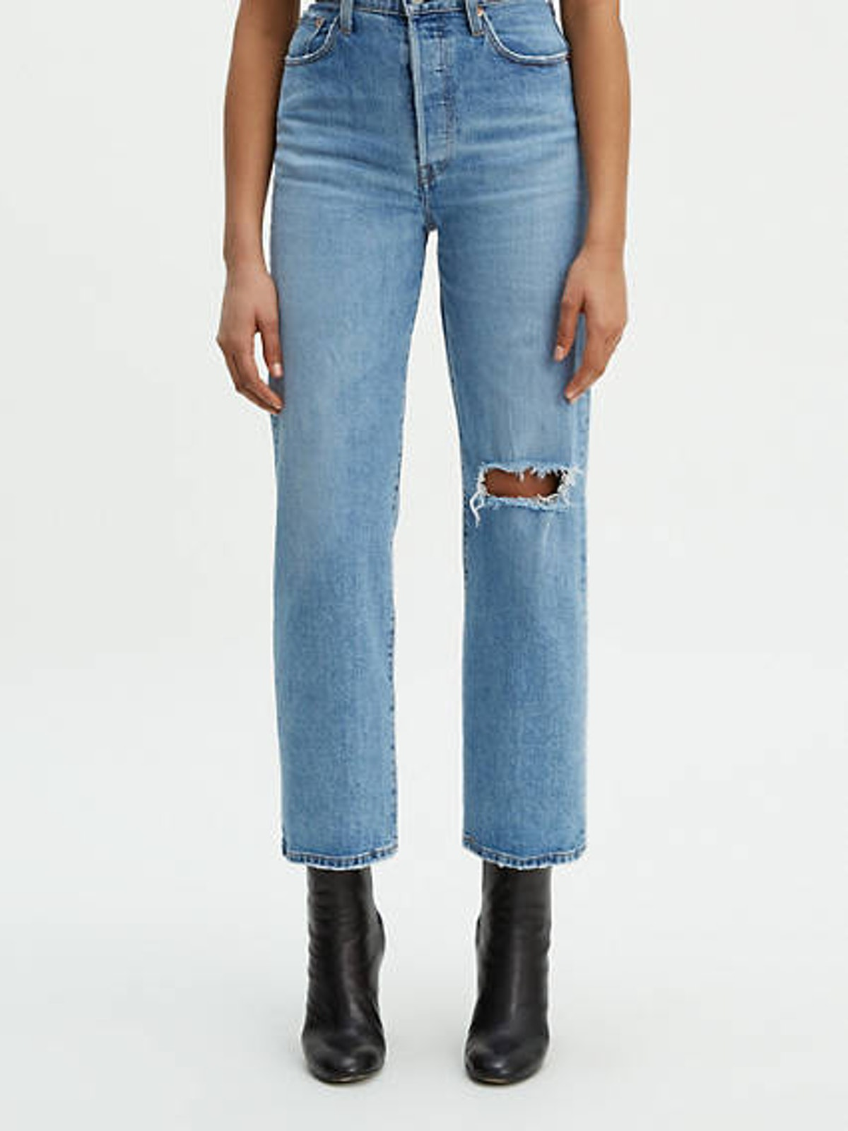 Ribcage Straight Jeans in Haters Gonna Hate