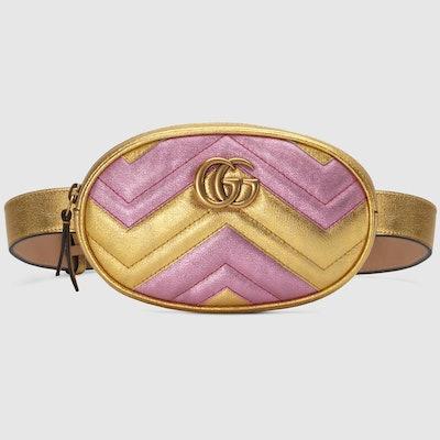 Marmont Matelassé Leather Belt Bag