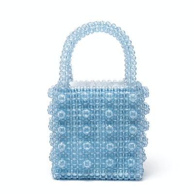 Antonia Beaded Blue Bag