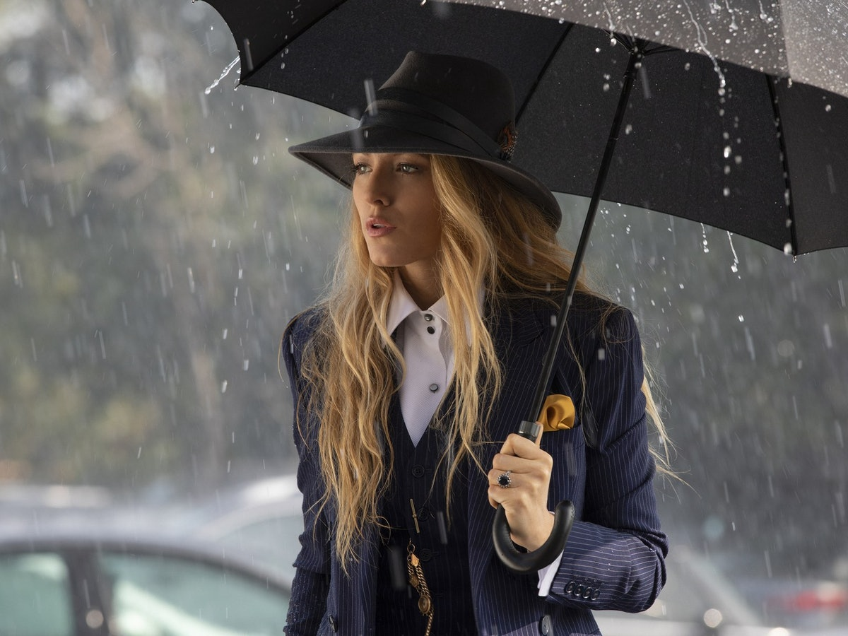 "'A Simple Favor' Costume Designer Renée Ehrlich Kalfus On The ""Subliminal"" Messages In Blake Lively's Suit Looks"