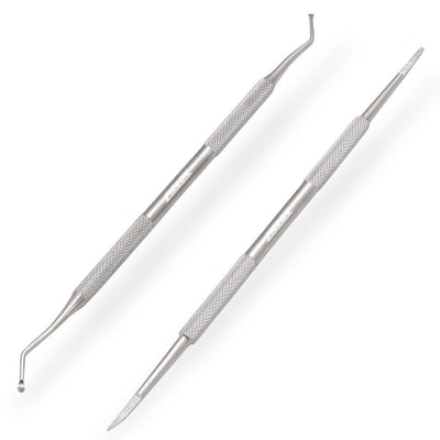 ZIZZON Ingrown Toenail Tools (Set of 2)