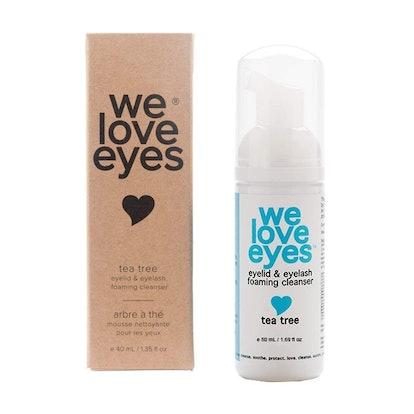 We Love Eyes Tea Tree Eyelid Cleanser