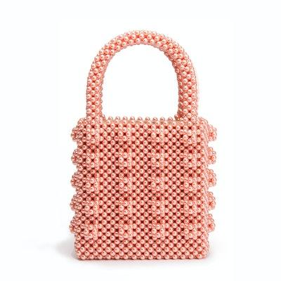 Antonia Beaded Pink Bag