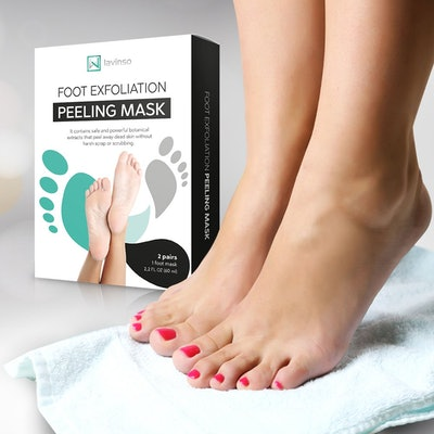 Lavinso Foot Peel Mask (Pack of 2)