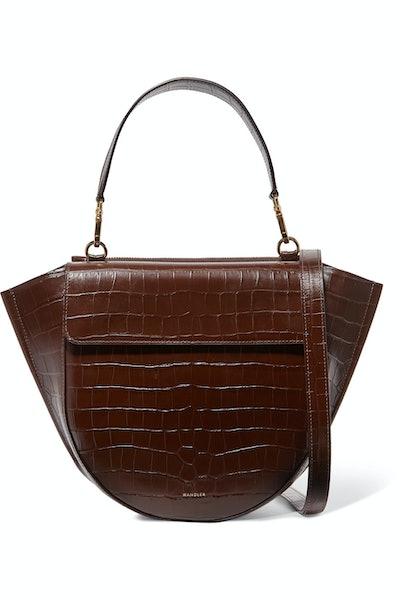 Hortensia Medium Croc-Effect Bag