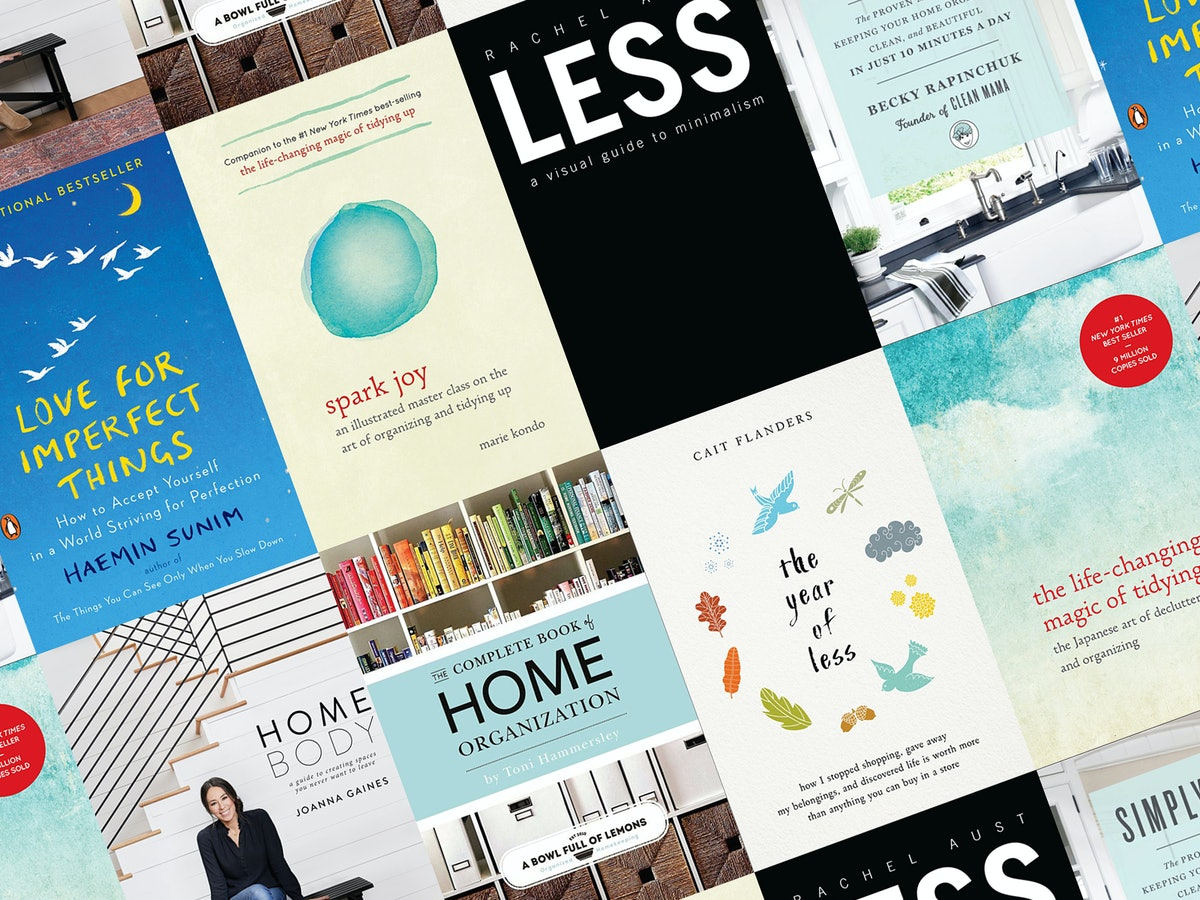 15 Books Like 'Tidying Up With Marie Kondo' To Help You Get Yourself & Your Household Back On Track