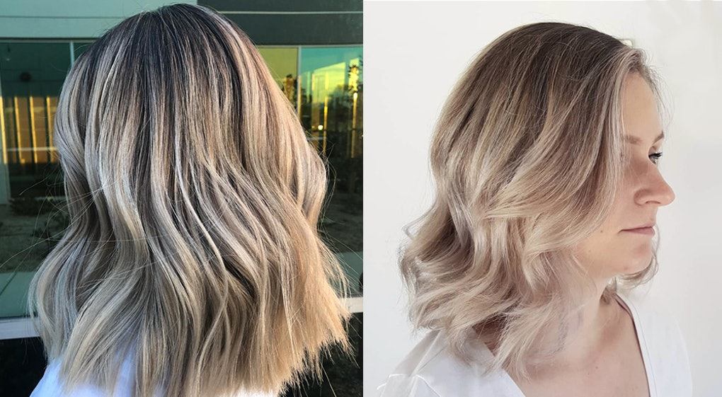 How To Get Smoked Marshmallow Hair One Of The Hottest 2019 Hair