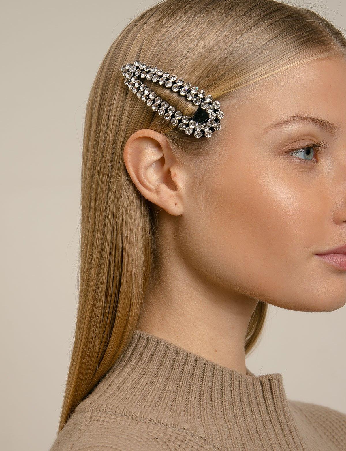 Diamond Hair Barrette