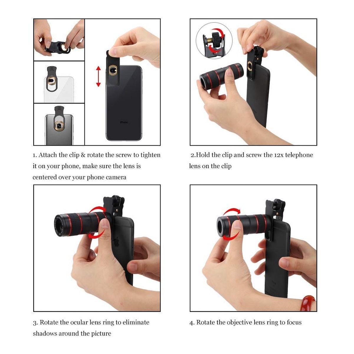 KNGUVTH Phone Camera Lens (5 Count)