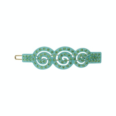 No. 9 Turquoise with Light Green Stones