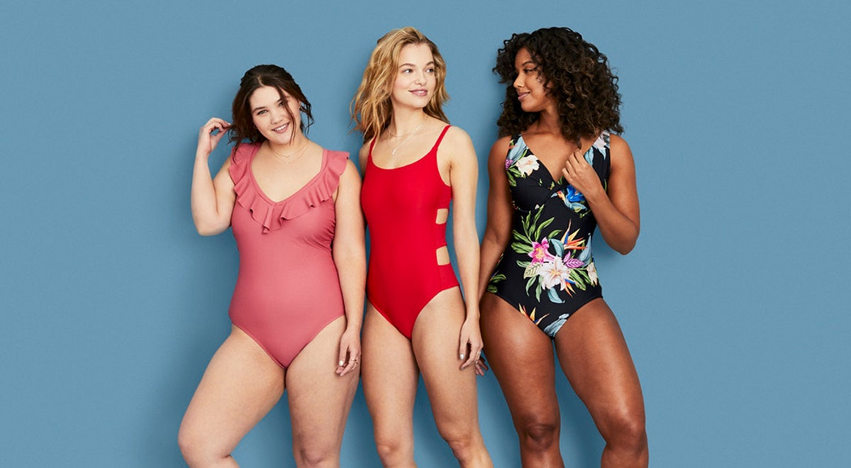 Target's New Kona Sol Swimwear Line Is Their Most Size-Inclusive Brand Launch To Date