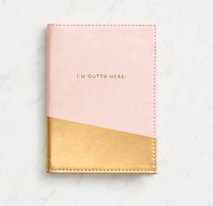 I'm Outta Here 7 Pocket Passport Holder