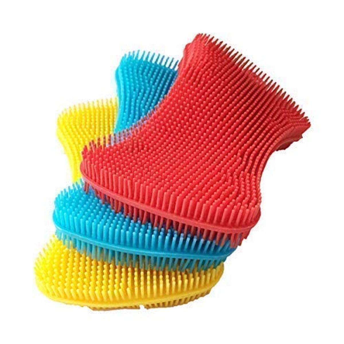 AKop Silicone Dish Scrubbers (3 Pack)