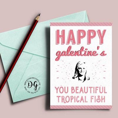 You Beautiful Tropical Fish Card