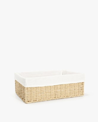 "Rectangular Basket - 5.1"" x 10.6"" x 14.2 """