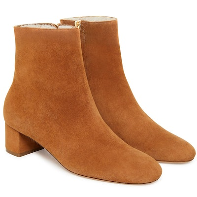 Shearling 40mm Ankle Boot in Cammello