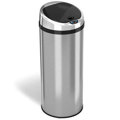 iTouchless Automatic Touch-less Sensor Kitchen Trash Can,